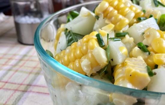 Homegrown Cucumber Salad