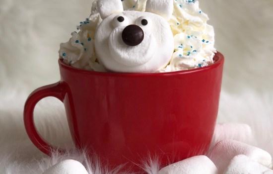 Polar Bear Marshmallows