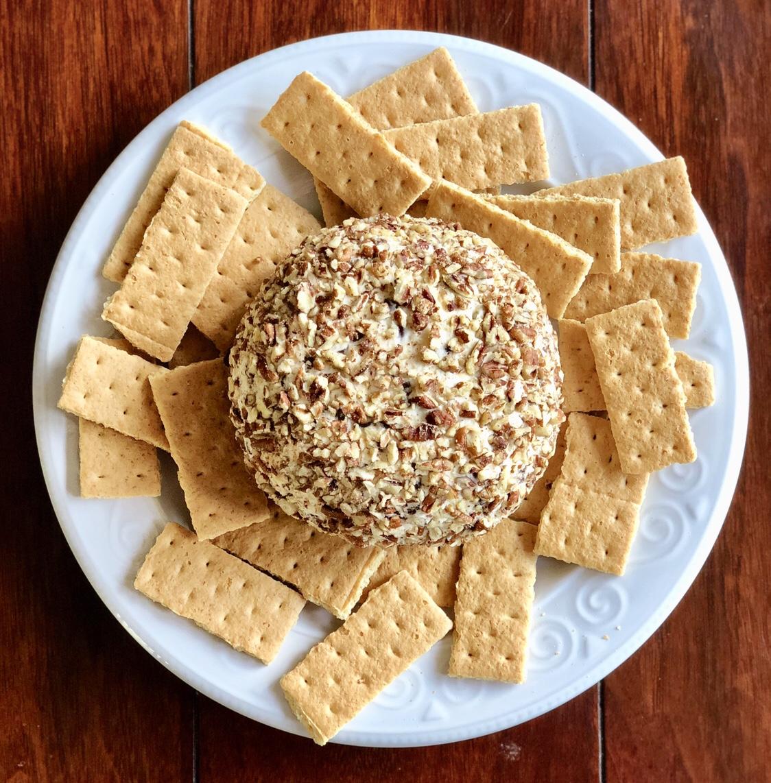 Chocolate Chip Cheesecake Ball