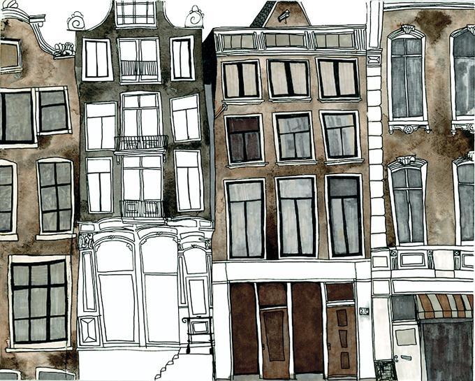 anisa makhoul amsterdam-buildings1