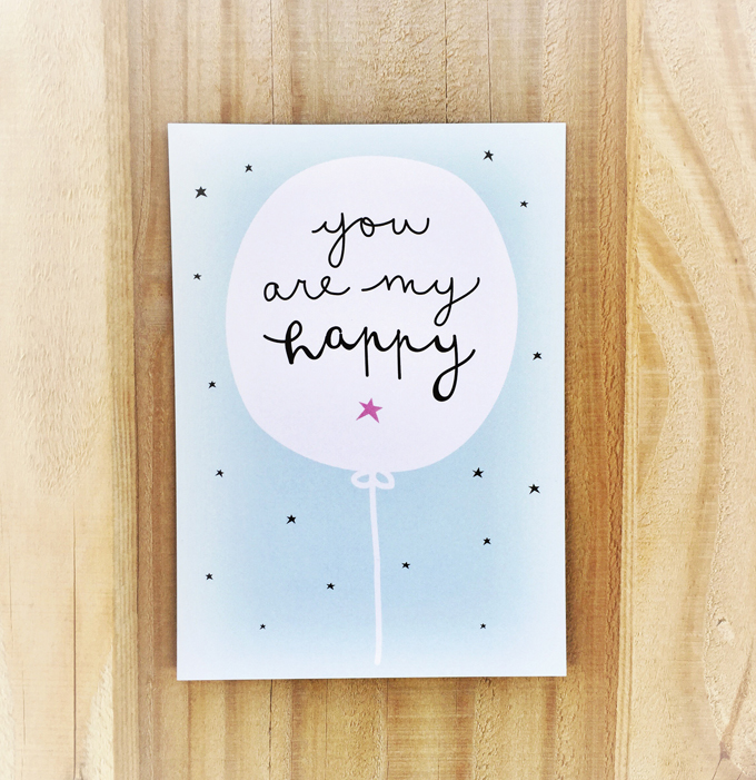 you are my happy cards