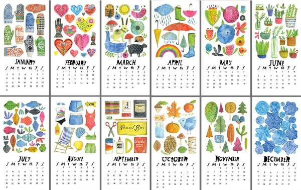 Lisa Cogndon Calendar 2