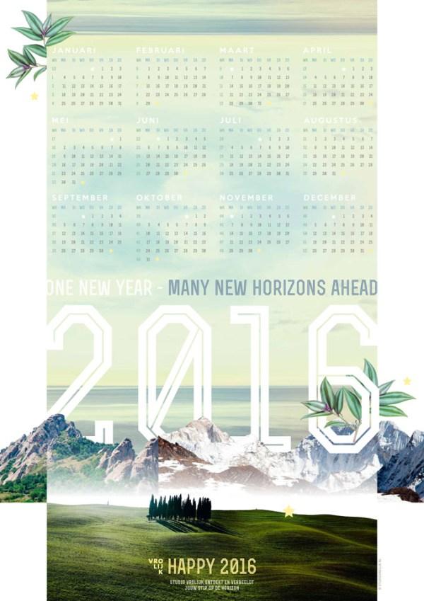 poster kalender 2016