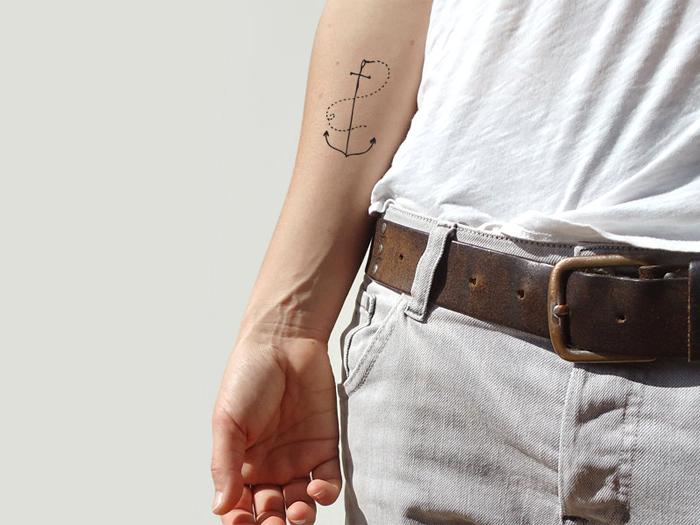 Krantenkapper temporary tattoos