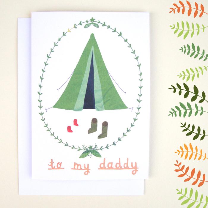 nicfarrell fathersday postcard