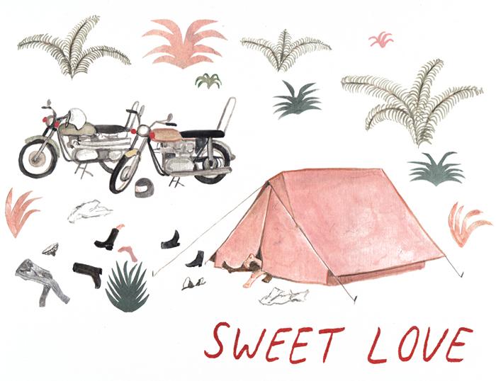 SARAH BURWASH Redcapcards valentinecard happymakersblog