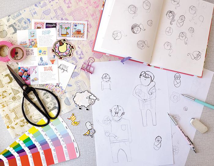 Aan de tekentafel Vera Bertens 8 HappyMakersBlog