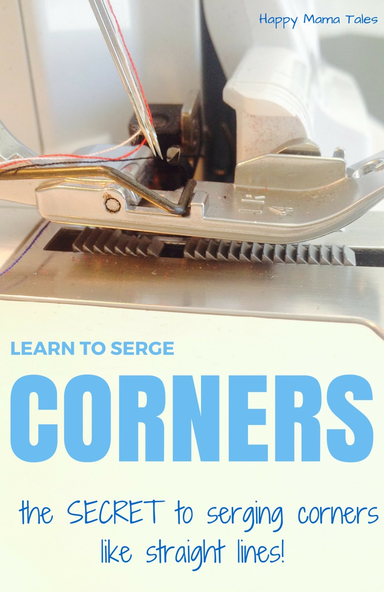 the SECRET to serging corners as easy as straight lines!!! Use this one tip and serging inward and normal corners will never be hard again!!