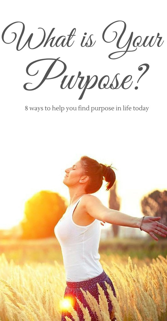 I LOVE this article! This blogger is awesome, she give so many awesome ideas on how to find purpose in life!!!