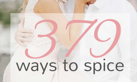 379 Ways to Spice Up Your Marriage