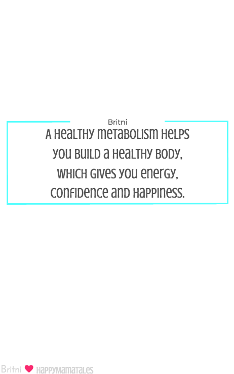 A healthy metabolism helps you build a healthy body, which gives you energy, confidence and happiness! Download your FREE Metabolism Ebook to learn all about it!!