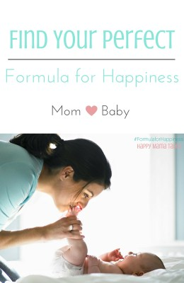 The Formula for Happiness {baby style}
