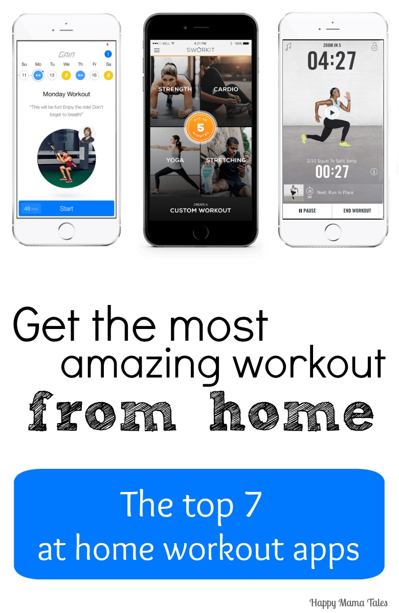 The Best Apps for Home Workouts - Happy Mama Tales