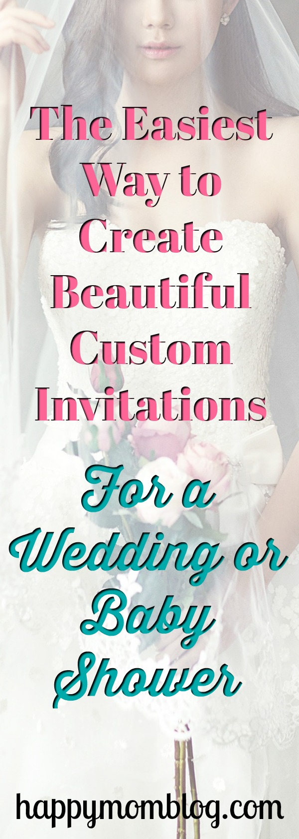 The easiest way to create custom invitations for your wedding or baby shower