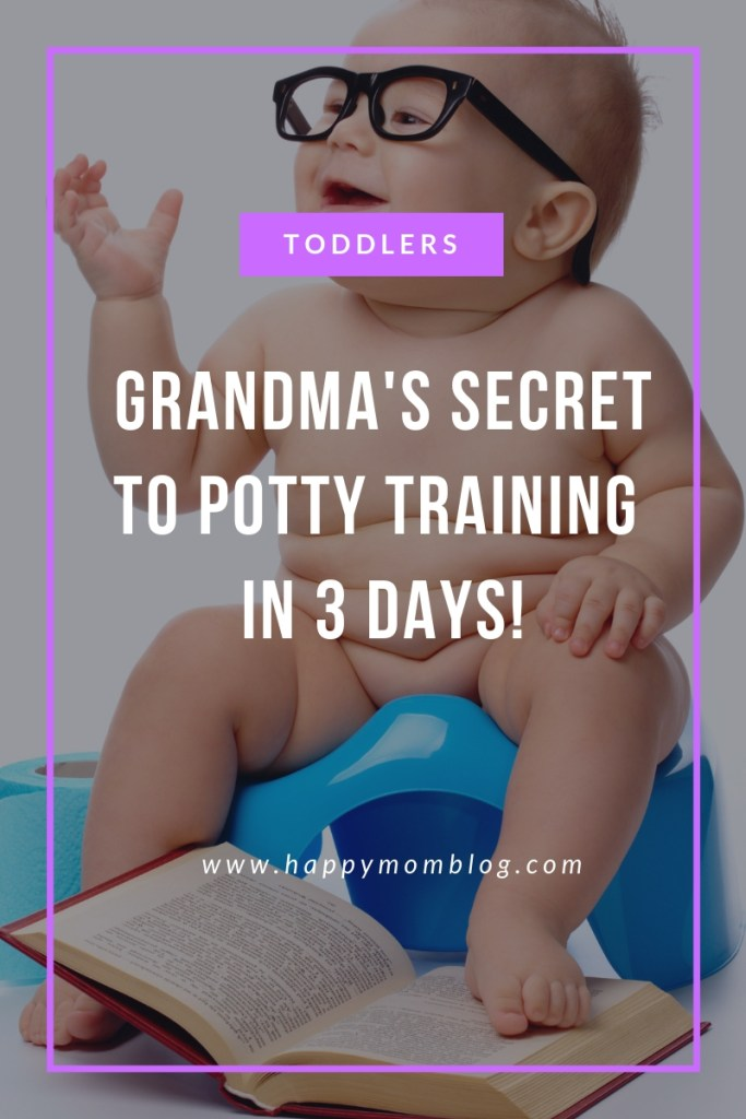 This is how my mother in law was able to potty train my daughter in 3 days! The best tips ever!