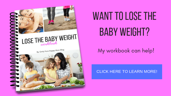 my workbook how to lose the baby weight