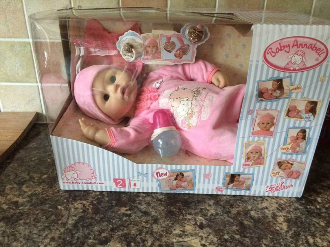 Baby Annabell Interactive Doll