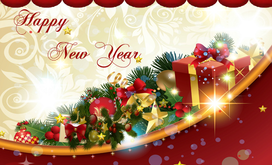 And 2017 Merry Christmas Year Greetings New Happy
