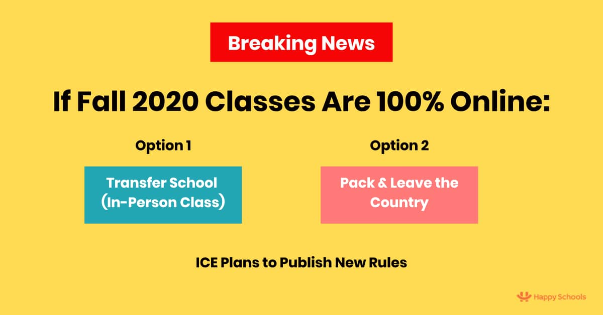 USCIS Imposes Huge Restrictions On Online Classes And F1 Visas