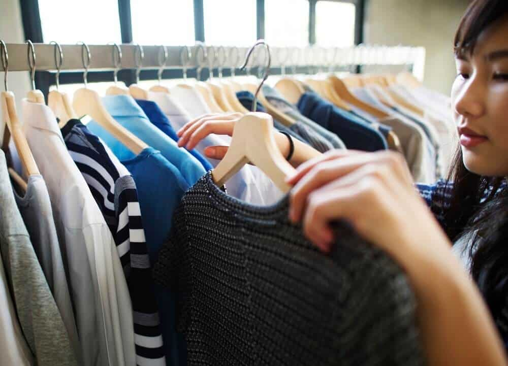 Declutter your closet in the declutering challenge.