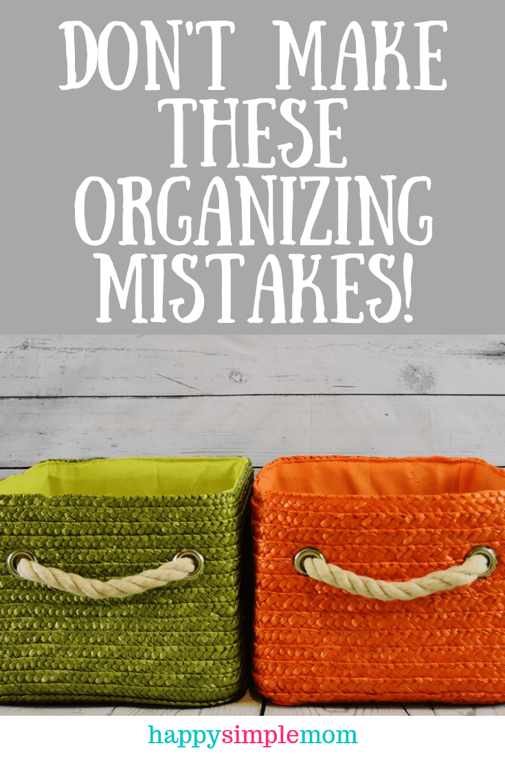 Don't make these home decor mistakes that will make you look like an organized mess!