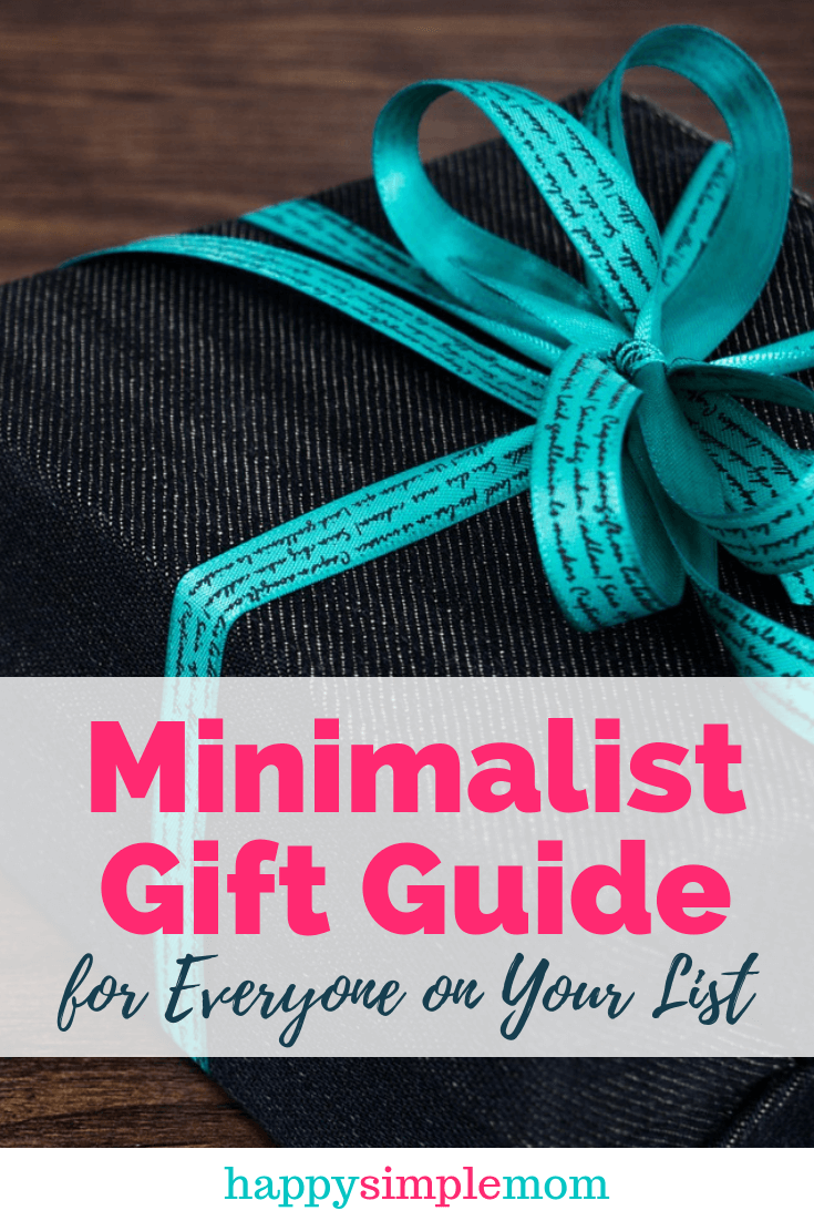 Gifts for Minimalists: Find something for everyone on your list. Clutter-free gifts for kids, moms, and dad. Gifts for experiences. Budget-friendly gift ideas.