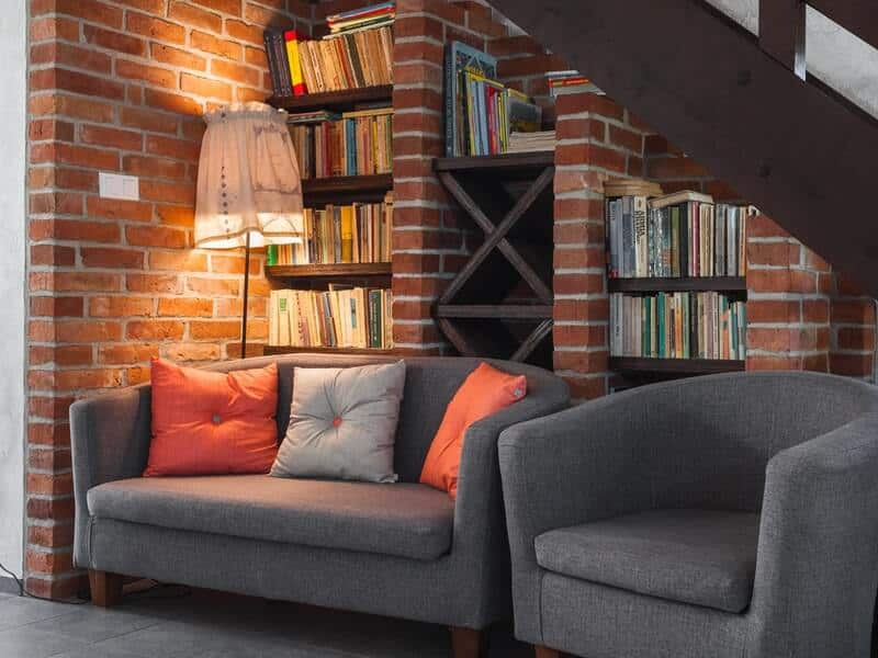 Book storage solutions once you go through the book clutter.