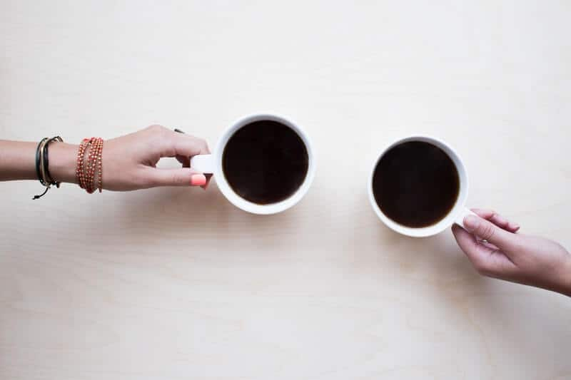 Schedule a coffee date with a friend. Make time for your friends.