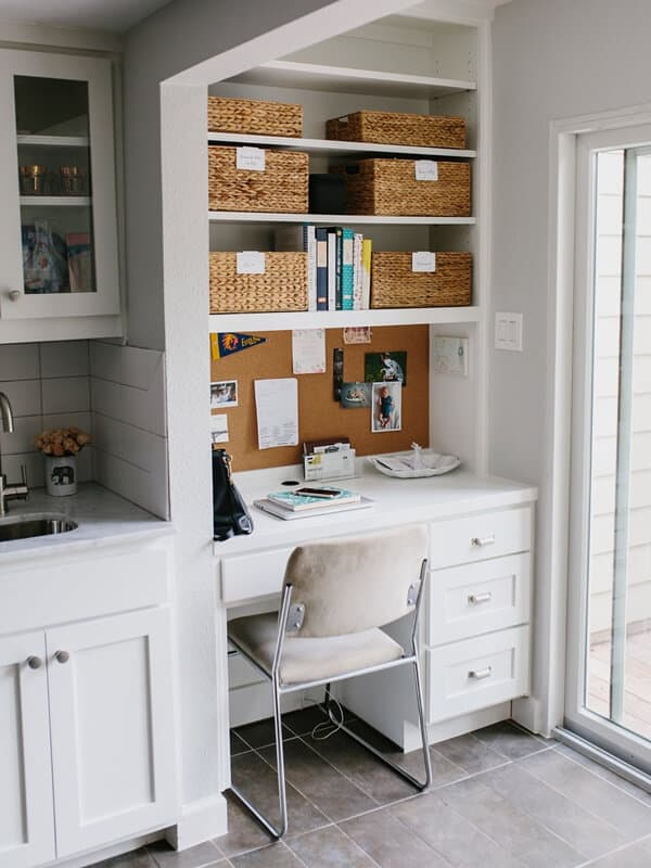 Nook office for small home office ideas.