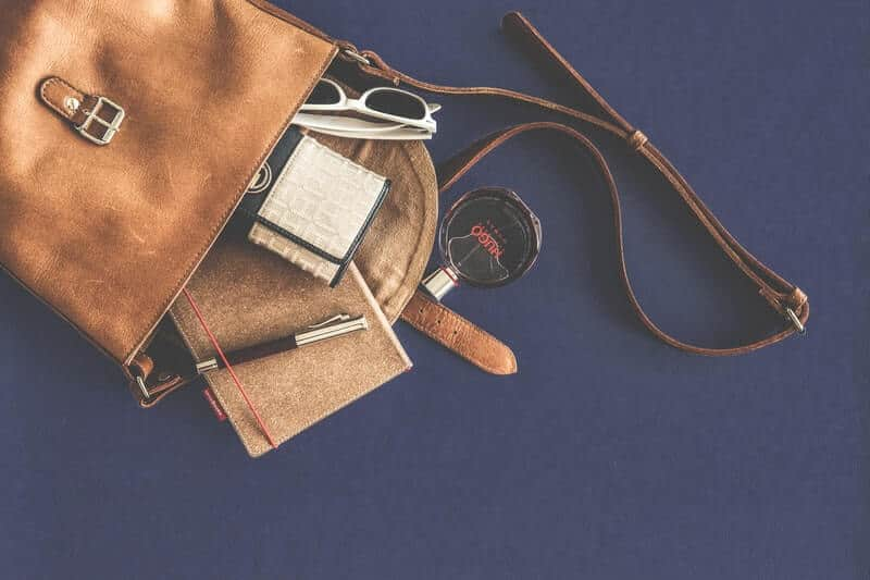 The KonMari method suggests you empty your purse daily.