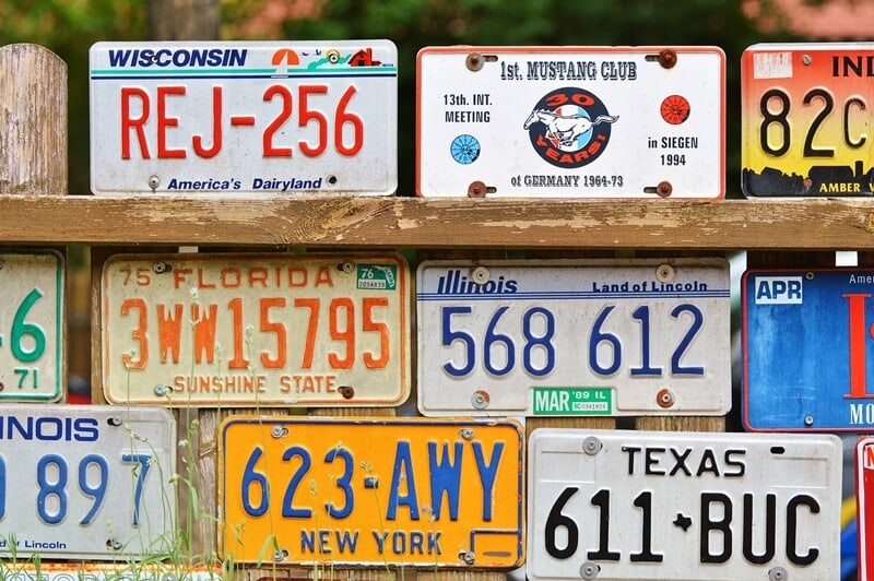 Use license plates to play the ABC game while taking a long road trip with kids.