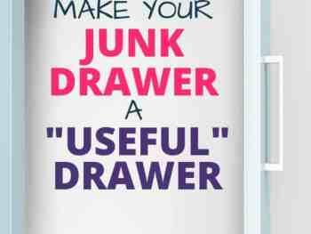 junk drawer organization