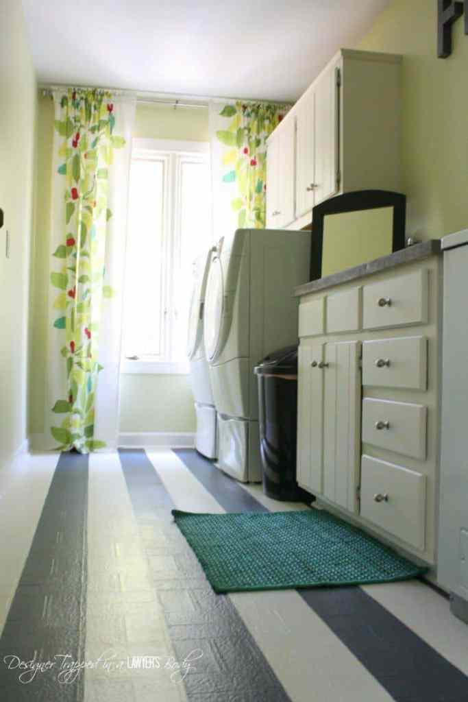 Laundry room make-over.