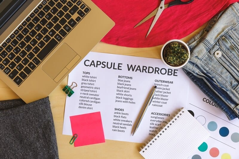 Use this capsule wardrobe guide to create a capsule wardrobe you love.