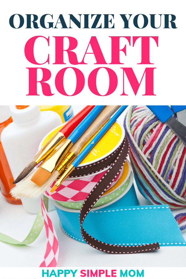Craft room organization made easy. Declutter your crafts and find your best creativity.