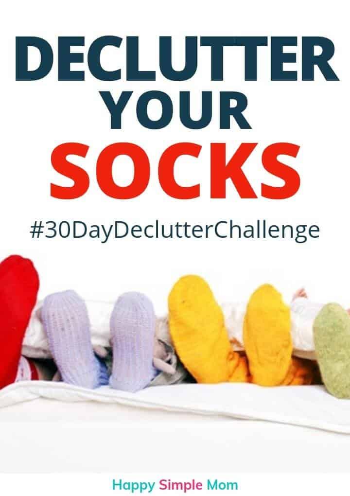 declutter your socks