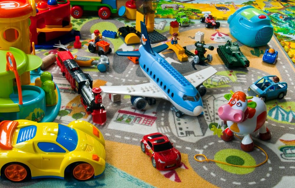 Kids toy clutter