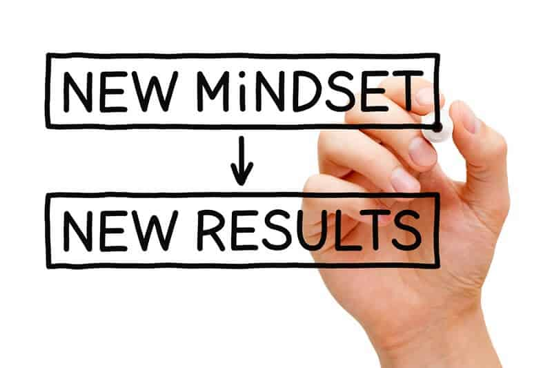 New mindset = new results - Ask these questions when decluttering.