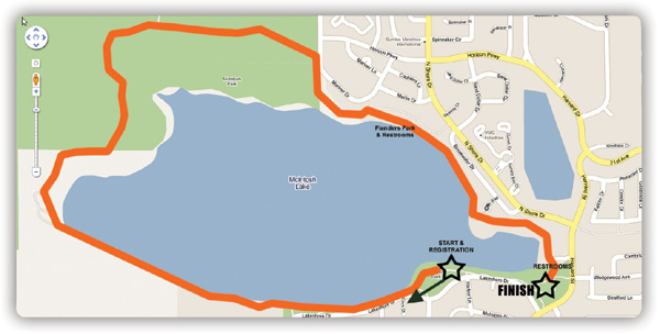 Happy Smackah 2011 Course Map