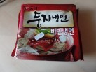 """#1016: Nongshim """"Doong Ji"""" Cold Noodles in Chili-Sauce"""