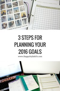 Use these 3 steps to make your goals turn into a reality.