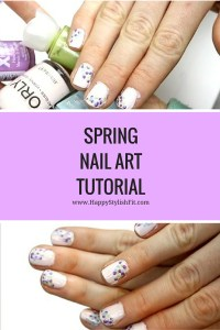 Click to find out how to do this Easter egg inspired DIY spring nail art design. It's simple and easy with minimal supplies required. Click to find out how to do it. Video is included!