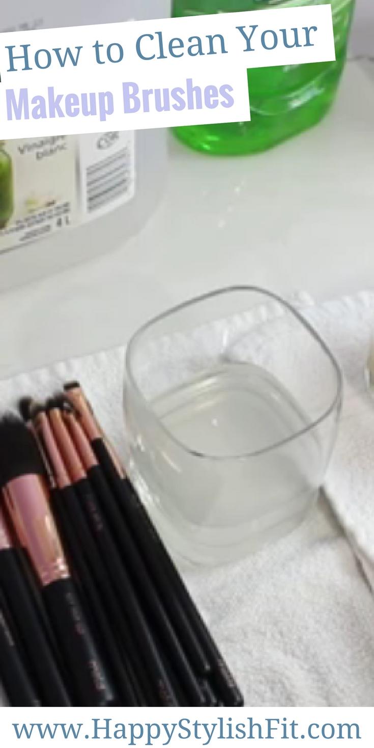 Learn how to clean your makeup brushes at home using this diy makeup brush cleaner.