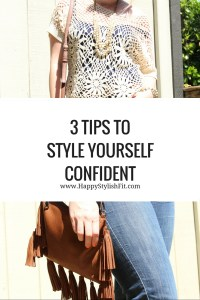 Feeling a little blah in your clothes, or just want some tips? Sign up for 3 info packed tips on how to style yourself confident.