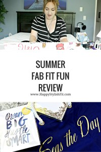 Find out what this box is all about with this summer Fab Fit Fun Review. Find out if this box is right for you!