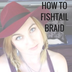 Learn how to fishtail braid with this easy to follow video hair tutorial.