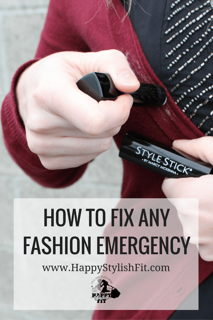 Learn how to fix almost any fashion emergency with this fashion fix all.