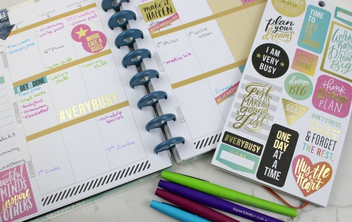 Stay organized and use your planner with these tips for how to plan your week.