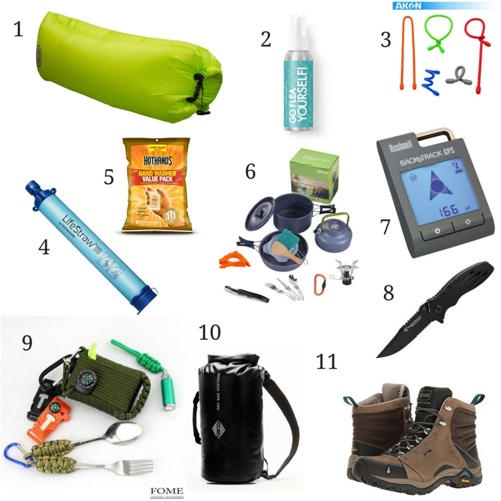 The Outdoor Enthusiast Gift Guide. American and Canadian links!