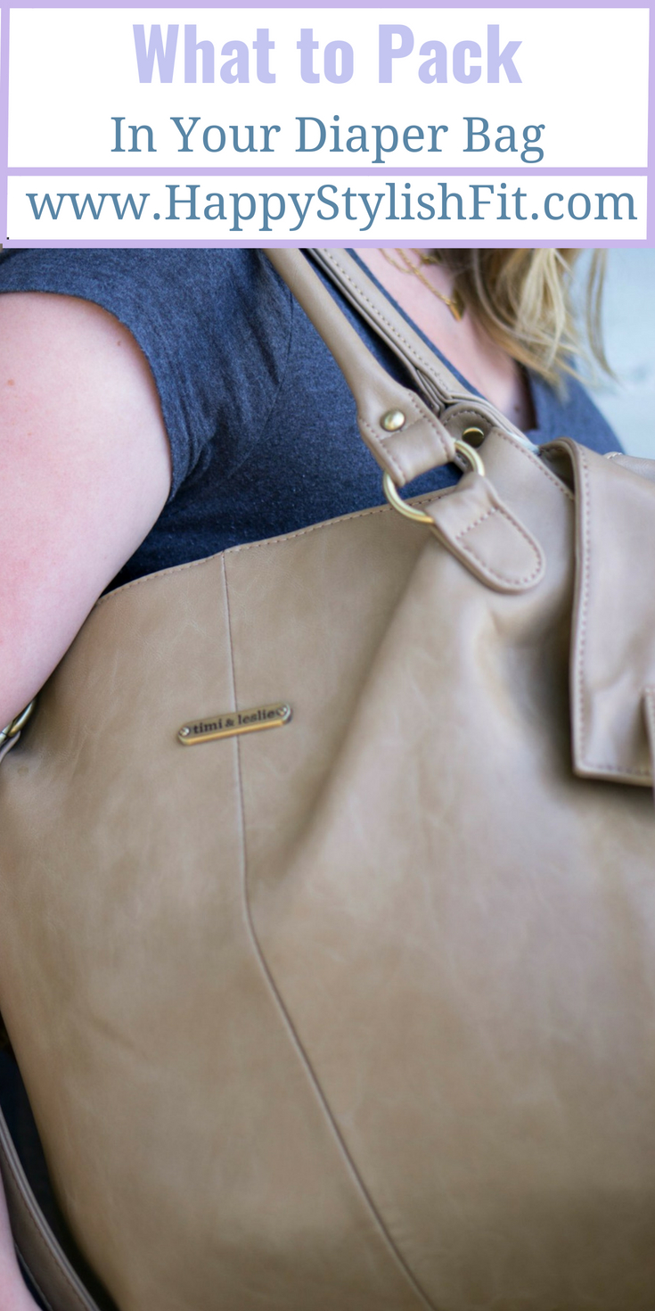 Diaper bag essentials for a day long outing with baby.